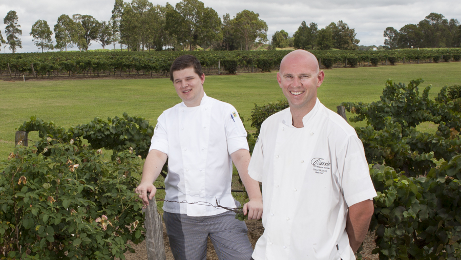 Interview with Chad Pridue, Chef at Peterson's House (Hunter Valley)